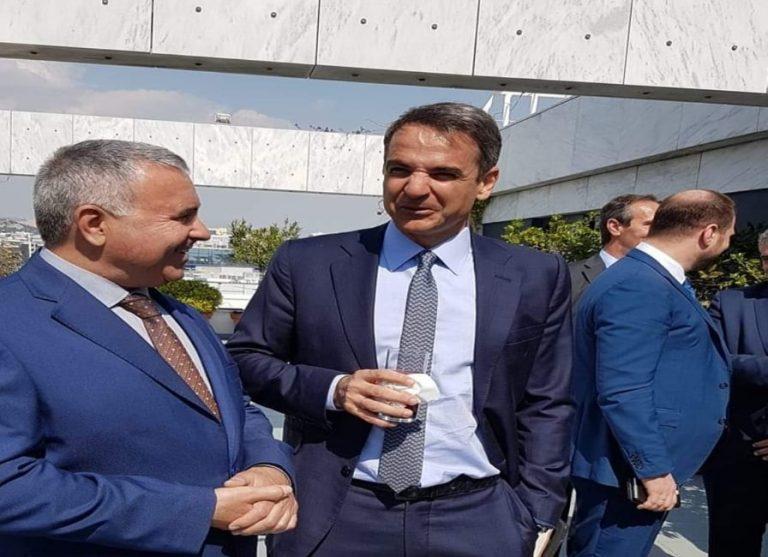 Συνάντηση με τον Κ.Μητσοτάκη ο Στ.Μιχαηλίδης