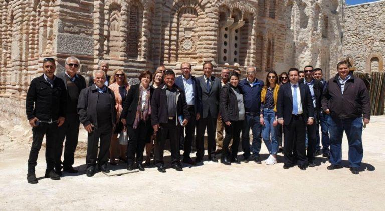 Επίσκεψη της Χ.Καλογήρου σε Άγιο Γεώργιο Συκούση και Θολοποτάμι