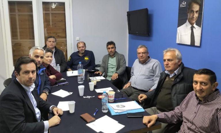 Συνάντηση Μηταράκη με τους υποψήφιους του συνδυασμού «Εμείς για το Αιγαίο»
