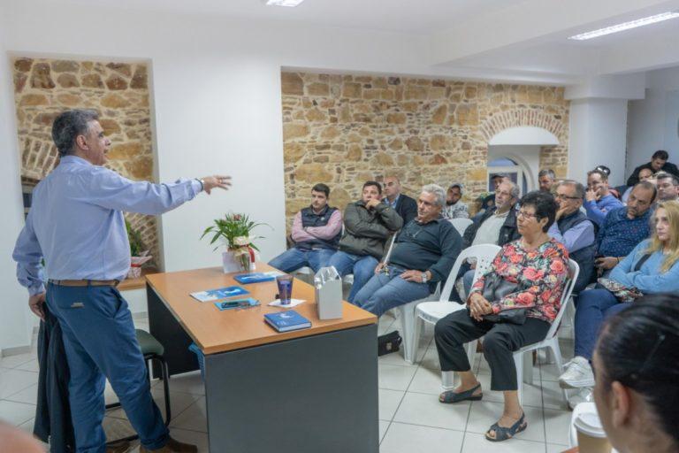Συνάντηση με εμπόρους και επιχειρηματίες ο συνδυασμός Κάρμαντζη