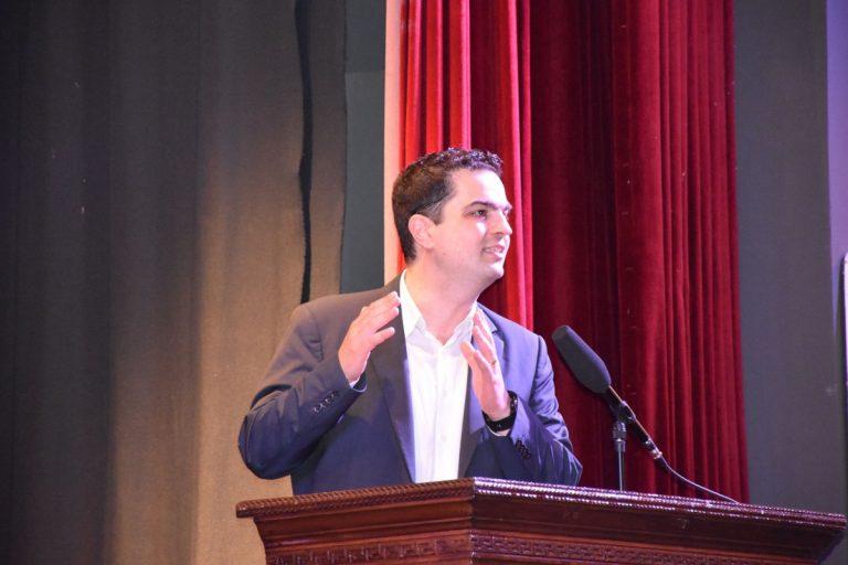 Παρουσίασε τις θέσεις της Συμμαχίας Αξιών στην ΠΕΚΕΒ ο Κώστας Τριαντάφυλλος