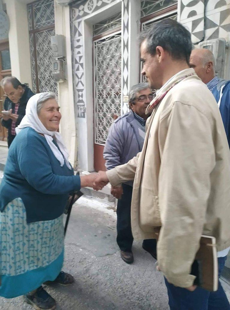 Περιοδεία στη Χίο ο συνδυασμός Χριστόφα