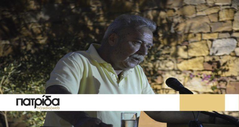 Δ.Παπαληός: «Το μέλλον της Χίου είναι πολύτιμο και δεν παίζεται σε προποτζίδικο του ΟΠΑΠ»