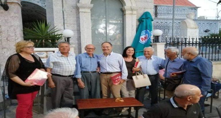 Συνεχίζονται οι περιοδείες των υποψηφίων βουλευτών του ΣΥΡΙΖΑ – Προοδευτική Συμμαχία Χίου