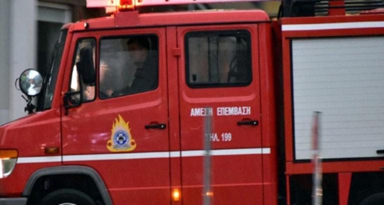 Φωτιά σε οικόπεδο οικίας στο Θολοποτάμι