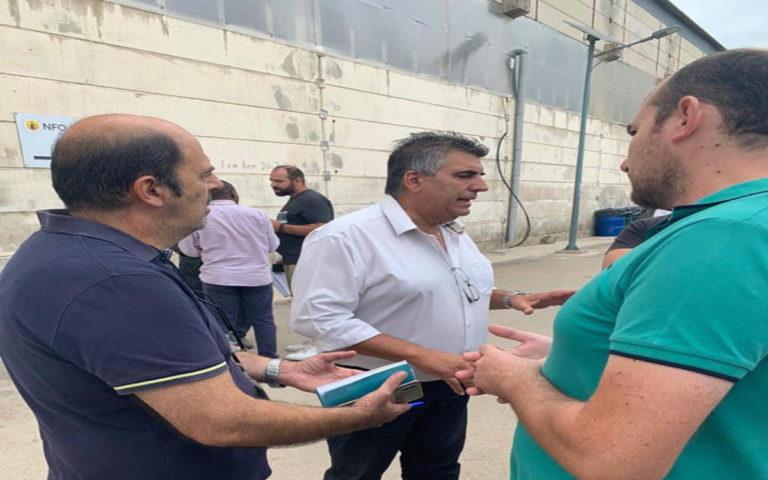 Δεν επετράπη η είσοδος στη ΒΙΑΛ σε φορείς Δήμου και Χαλκειούς