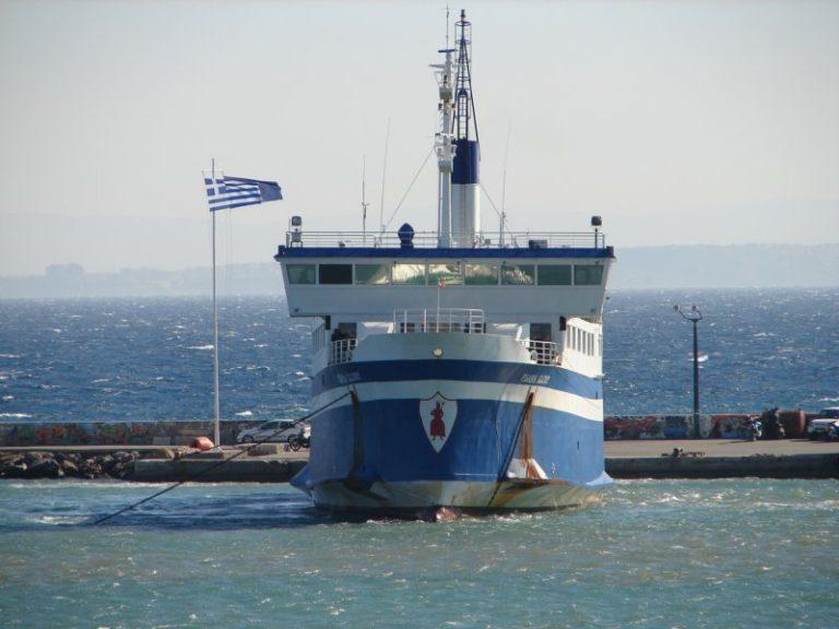 Πλοίο ίδιας χωρητικότητας με το «Psara Glory» για τη σύνδεση Ψαρών – Χίου ζητά ο Γ.Αμπαζής