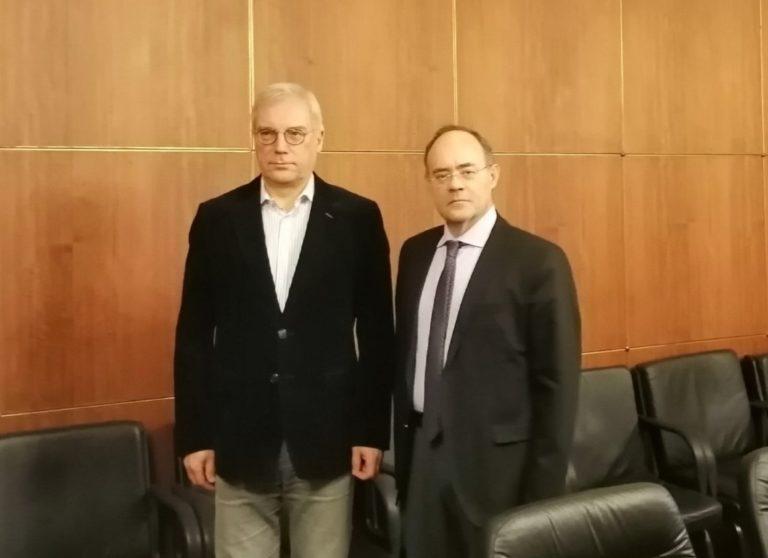 Επίσκεψη στη Ρωσία και συνάντηση με τον Υφυπουργό Εξωτερικών για τον Α.Μιχαηλίδη