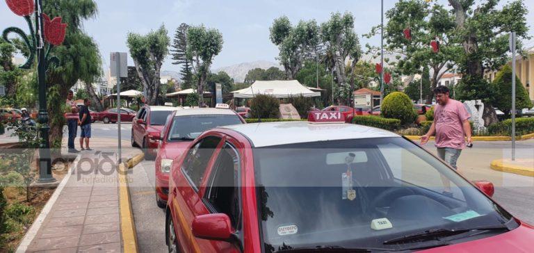 Τράβηξαν χειρόφρενο οι ταξιτζήδες λόγω κορονοϊού (vid)