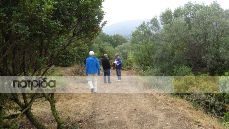 Από μονοπάτι αγροτικός δρόμος στον Άγιο Γιάννη Φακά (vid)
